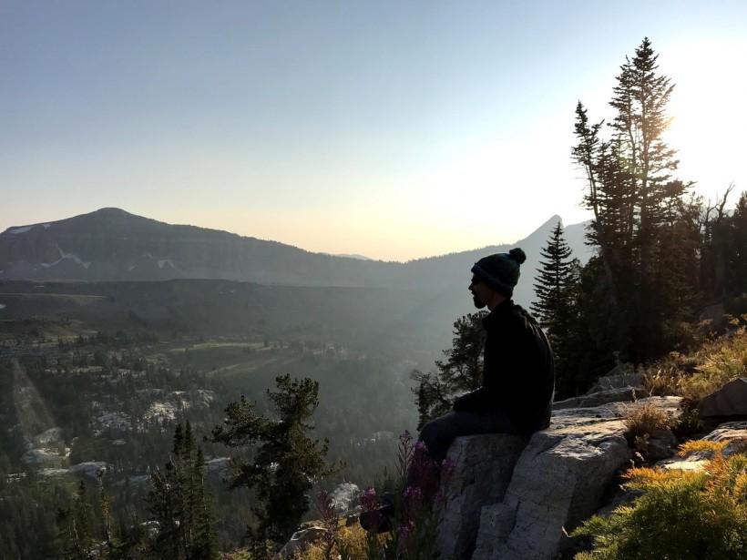 Teton mountains vista