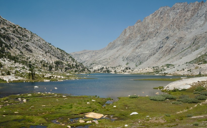 sierra high route evolution lake