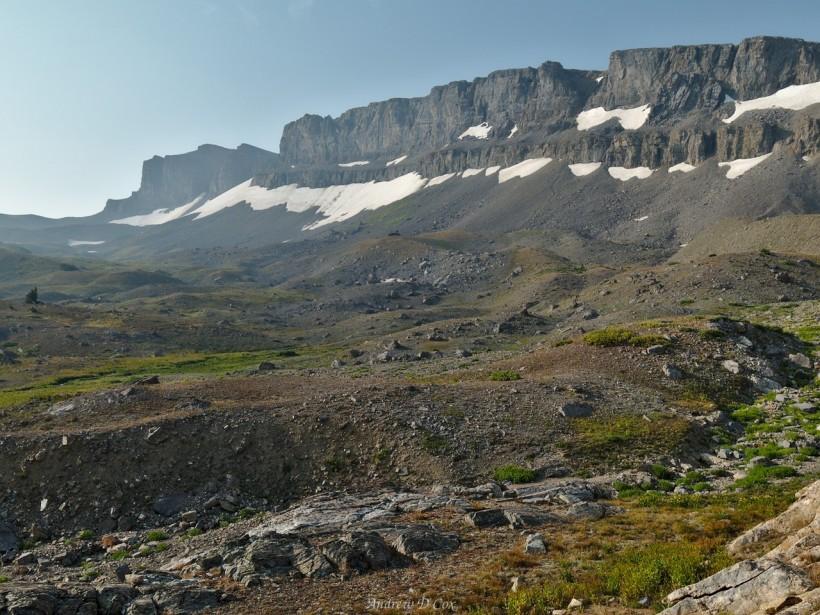 teton mountains moraines