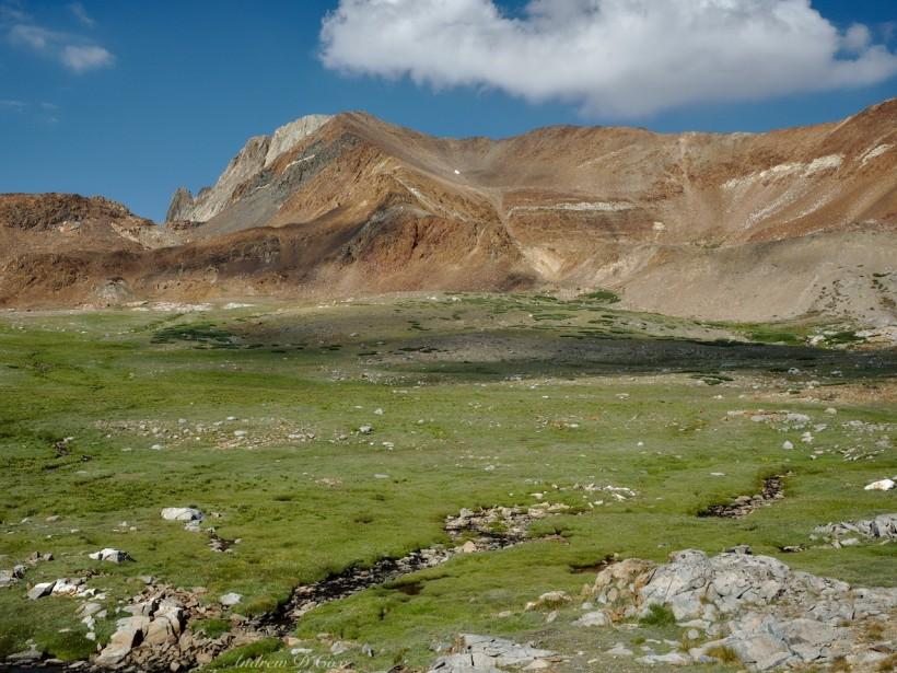 sierra high route pinchot pass