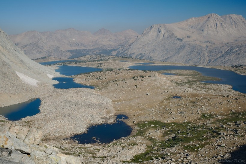 sierra high route puppet lake