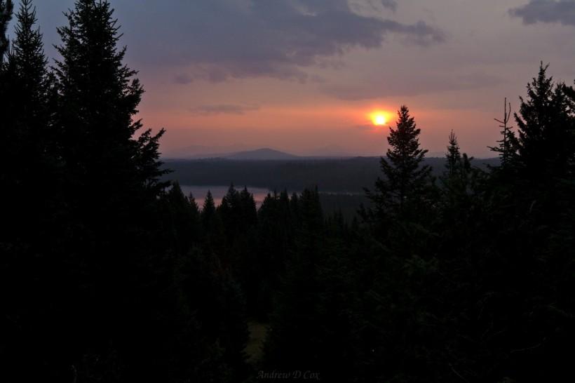 teton mountains dawn