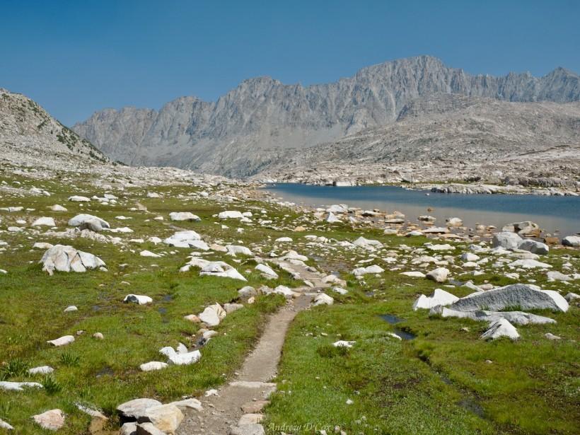 sierra high route sapphire lake