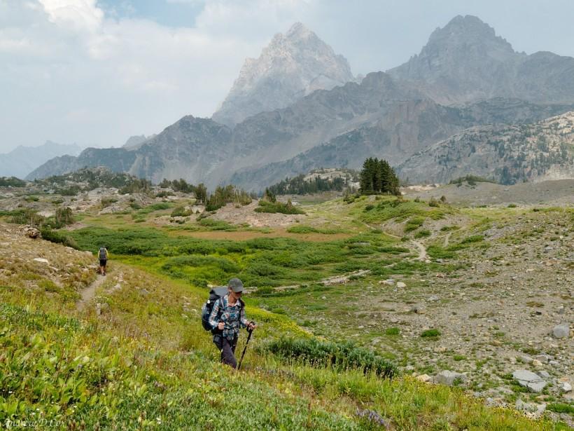 teton mountains alpine hurricane pass