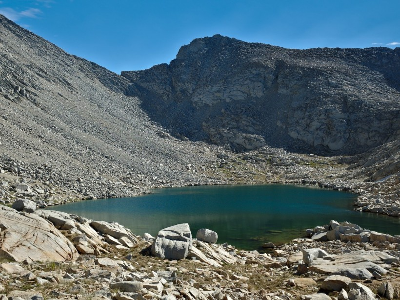 sierra high route frozen lake pass