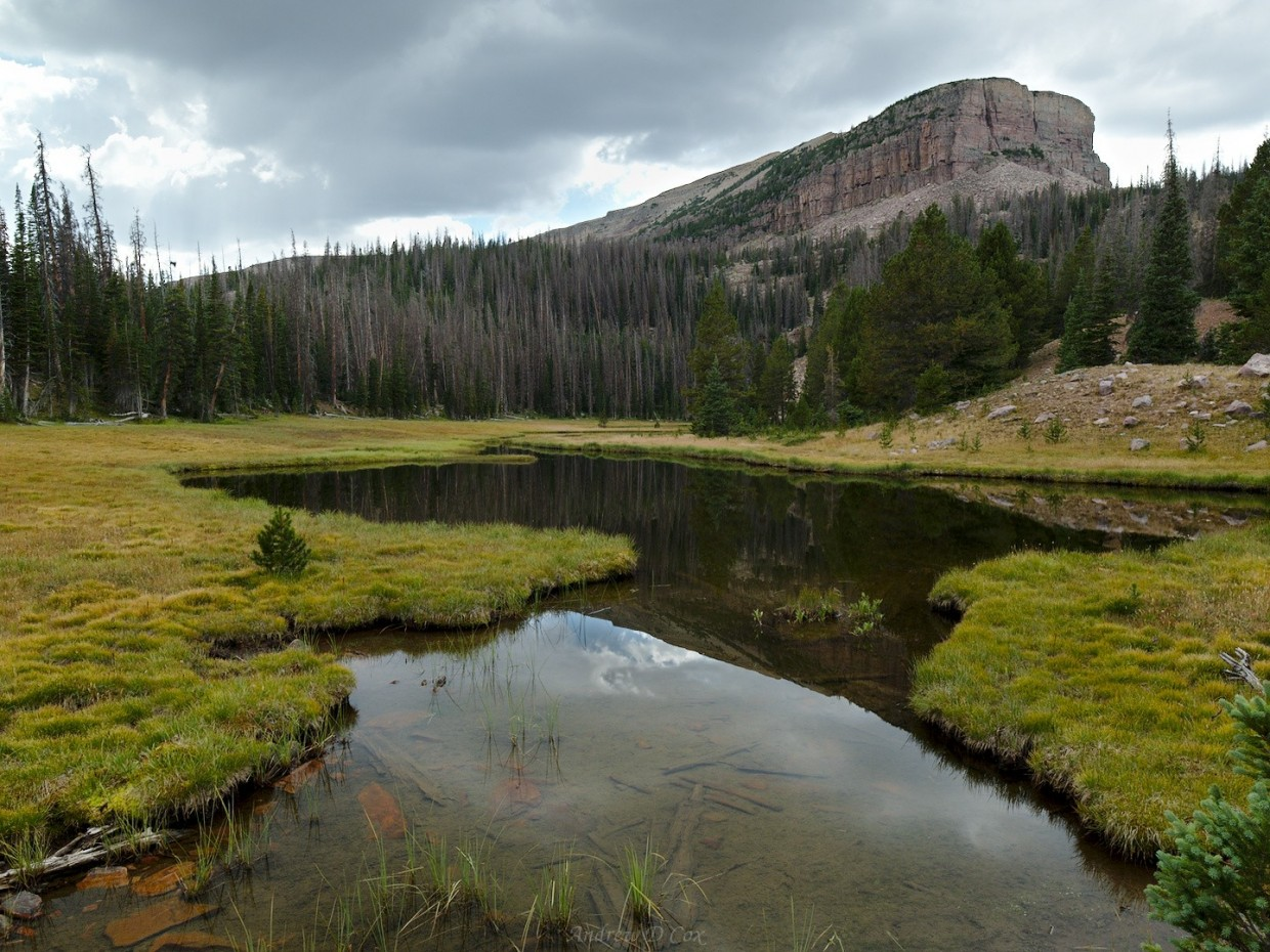 uinta mountains lake