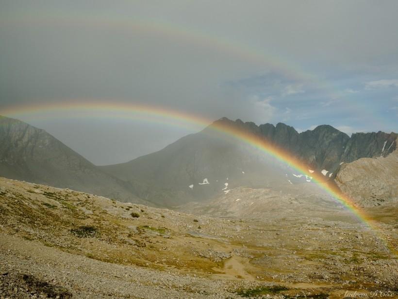 sierra high route rainbows