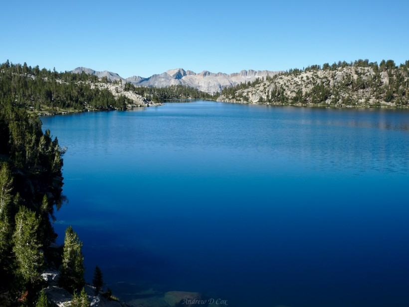 sierra high route virginia lake john muir trial