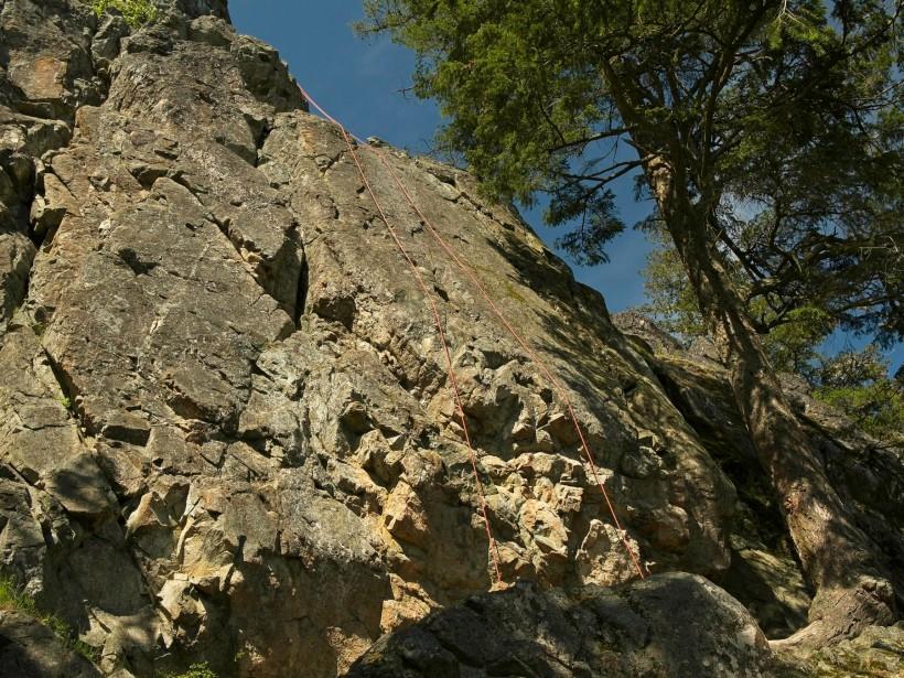 mount erie climbing