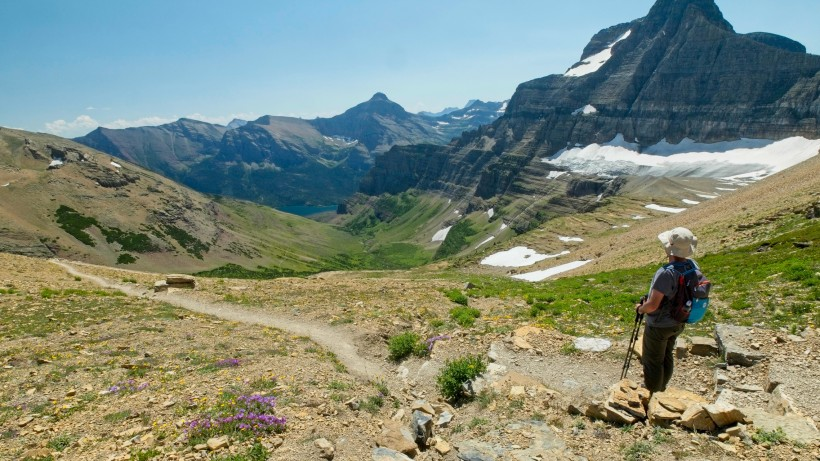glacier national park siyeh pass