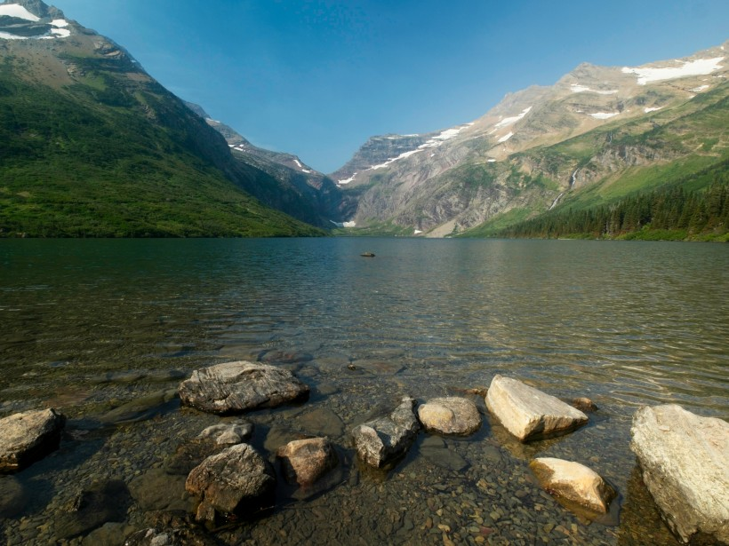 glacier national park gunsight lake