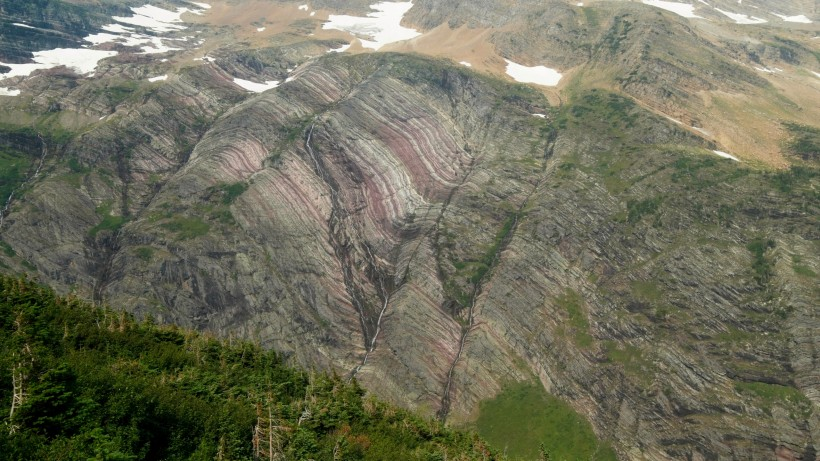 glacier national park geology
