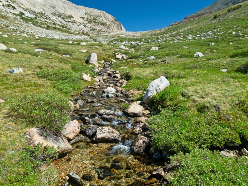 sierra high route horse creek pass