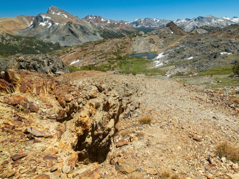 sierra high route mineshaft pass