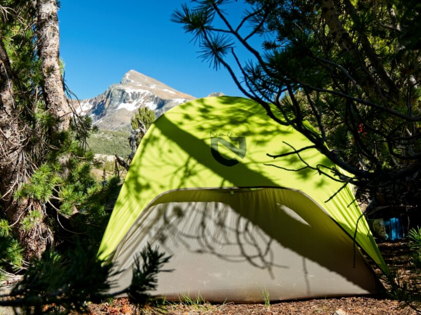 sierra high route campsite