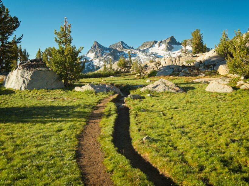 john muir trail ritter range