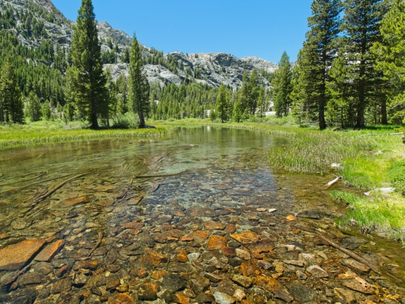 john muir trail shadow creek