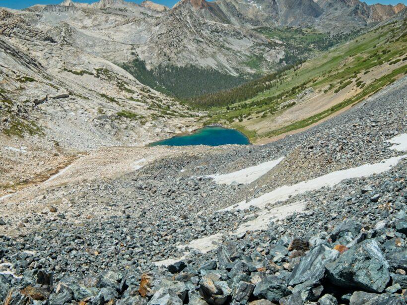sierra high route shepherd lake