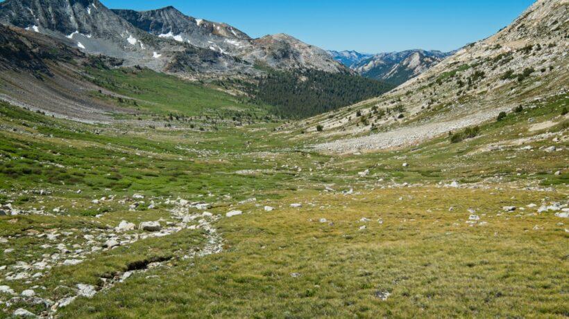 sierra high route spiller canyon