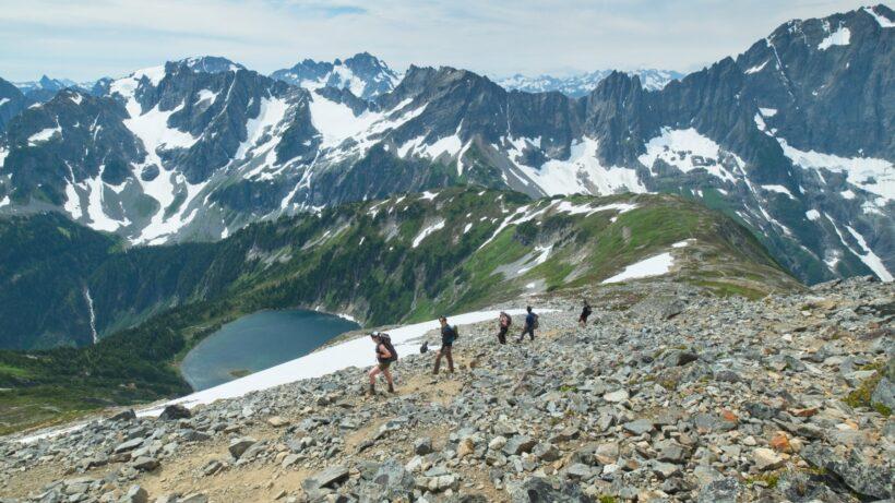 sahale glacier cascade pass
