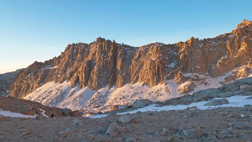 mount whitney mountaineers route pinnacle ridge