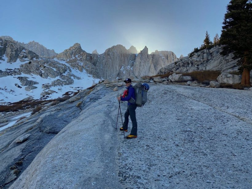 mount whitney mountaineers route slabs