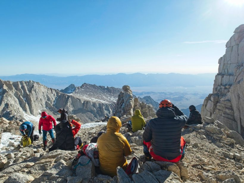mount whitney mountaineers route notch