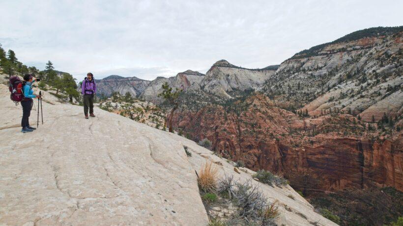 zion national park west rim trail