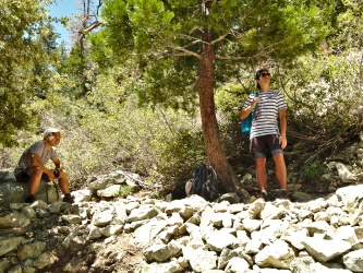 icehouse canyon trail shade