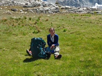 sierra high route meadow