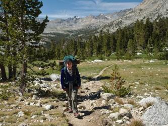 sierra high route upper basin