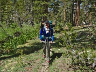 sierra high route backpacking