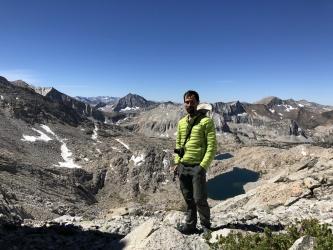 sierra high route lake basin