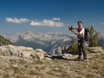 sierra high route kaweah peaks