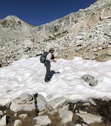 sierra high route snow