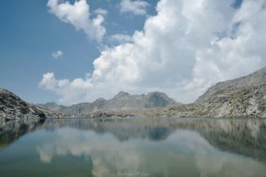 sierra high route barrett lake