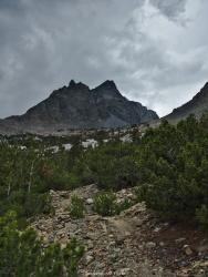sierra high route baxter pass trail