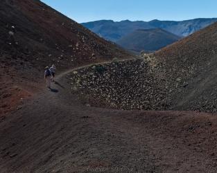 haleakala hiking trail cinder cone
