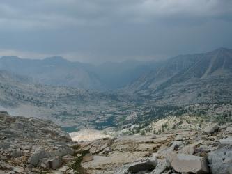 sierra high route storm