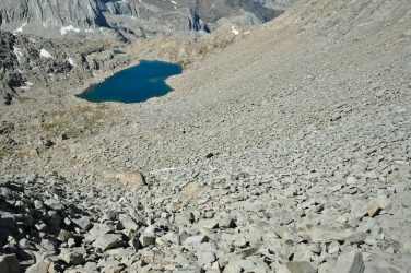sierra high route frozen lake pass