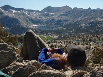 sierra high route grouse lake pass