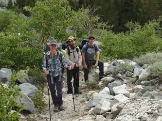 pine creek trail backpacking