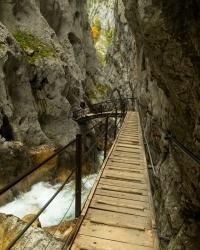 alps canyon bridge hollental