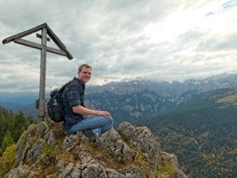 alps kruezeck summit