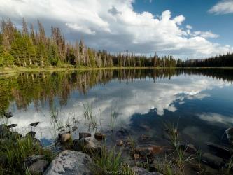 uinta mountains ouray lake