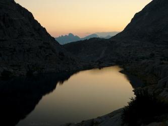 sierra high route dusk