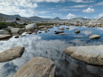 pine creek pass tarn