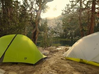 honeymoon lake camping