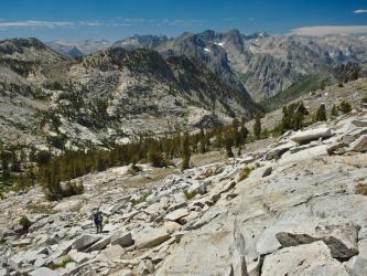 sierra high route talus