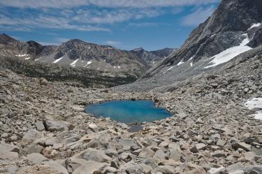 sierra high route tarn